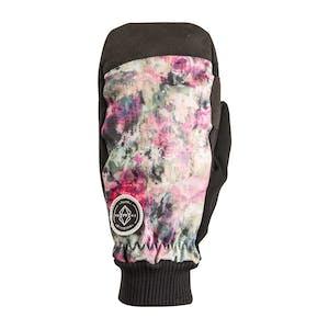 Rome Tie-Dye Women's Snowboard Mitts - Flower
