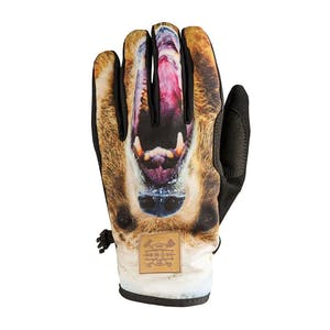 Rome Movement Men's Snowboard Gloves - Grizzly