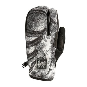Rome Spring Snowboard Trigger Mitts - Snake