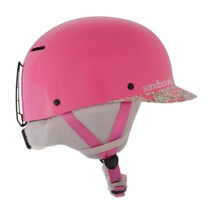 Sandbox Classic 2.0 Ace Kids' Snowboard Helmet - Flower Power
