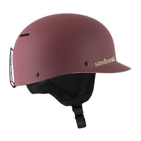 Sandbox Classic 2.0 Snow Helmet - Burgundy Floral