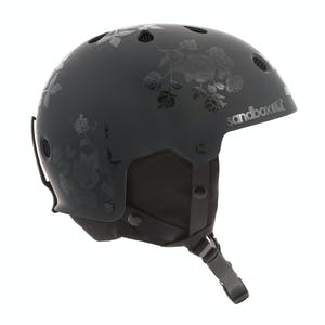 Sandbox Legend Snowboard Helmet - Black Roses
