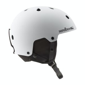 Sandbox Legend Snowboard Helmet - White