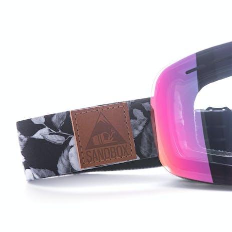 Sandbox Kingpin Snowboard Goggle - Rose Camo / Pink Ion + Bonus Lens