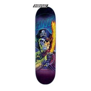 "Santa Cruz The Worst Capt Deadstar 8.25"" Skateboard Deck - Everslick"