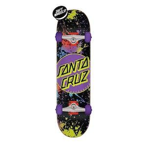 """Santa Cruz Dot Splatter 7.5"""" Complete Skateboard"""