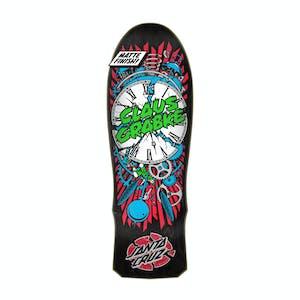 """Santa Cruz Grabke Exploding Clock 10.0"""" Skateboard Deck"""