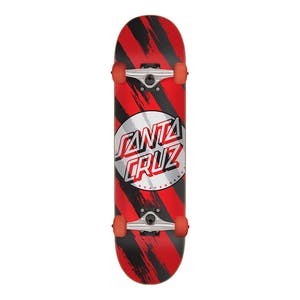 "Santa Cruz Brush Dot 7.5"" Complete Skateboard"