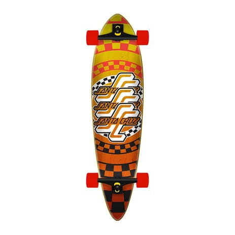 "Santa Cruz Check OGSC Pintail 39"" Cruiser Skateboard"