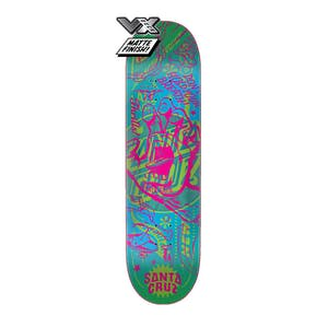 "Santa Cruz Flash Hand VX 8.0"" Skateboard Deck"