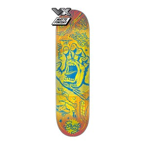 "Santa Cruz Flash Hand VX 8.25"" Skateboard Deck"