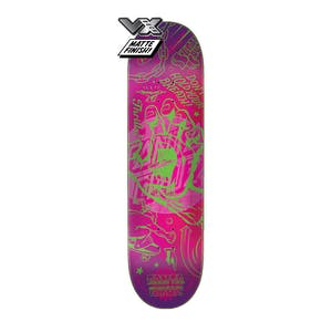 "Santa Cruz Flash Hand VX 8.5"" Skateboard Deck"