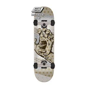 "Santa Cruz Monyo Hand 7.25"" Complete Skateboard"