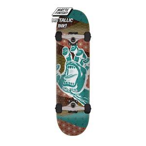 "Santa Cruz Monyo Hand 7.75"" Complete Skateboard"