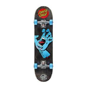 "Santa Cruz Screaming Hand 7.5"" Complete Skateboard - Black"