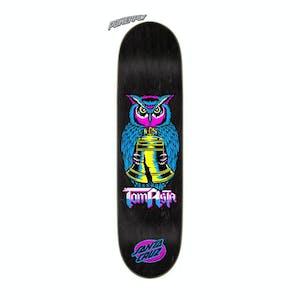 "Santa Cruz Asta Night Owl 8.0"" Skateboard Deck - Powerply"