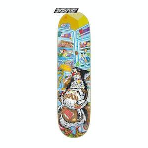 "Santa Cruz Braun Munchies 8.25"" Skateboard Deck - Everslick"