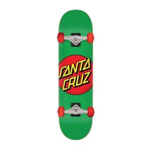 "Santa Cruz Classic Dot 7.8"" Complete Skateboard - Green"