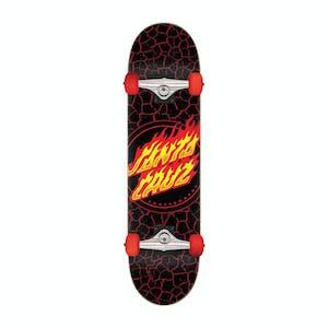 "Santa Cruz Flame Dot 8.0"" Complete Skateboard"