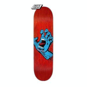 "Santa Cruz Screaming Hand 8.0"" Skateboard Deck - Red"