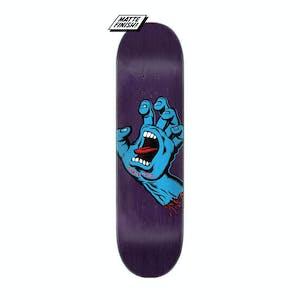 "Santa Cruz Screaming Hand 8.38"" Skateboard Deck - Indigo"