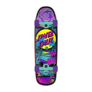 """Santa Cruz Time Warp 9.51"""" Cruiser Skateboard"""