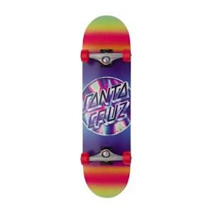 "Santa Cruz Iridescent Dot 8.25"" Complete Skateboard"