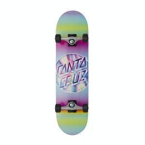 "Santa Cruz Iridescent Dot 8.0"" Complete Skateboard"