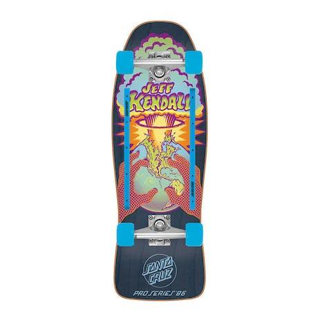 """Santa Cruz Kendall EOTW 10.0"""" Cruiser Skateboard"""