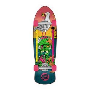 "Santa Cruz Low Tide 80s Cruizer 9.42"" Complete Skateboard"