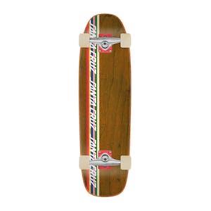 "Santa Cruz Stripe Strip 8.4"" Cruiser Skateboard"