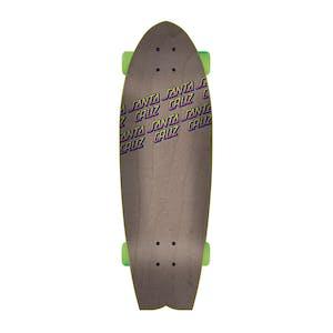 """Santa Cruz Sunset Dot Shark 8.8"""" Cruiser Skateboard"""