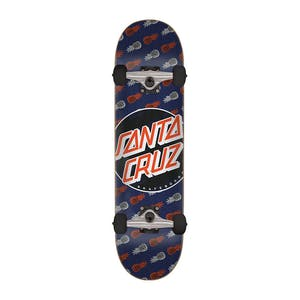 "Santa Cruz Tropic Dot 7.75"" Complete Skateboard"