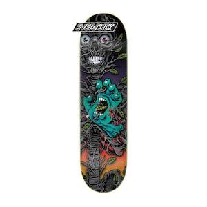 "Santa Cruz Hand Crew Bio 8.0"" Skateboard Deck - Everslick"