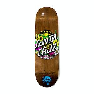 "Santa Cruz Dressen Pup Dot 9.0"" Skateboard Deck"