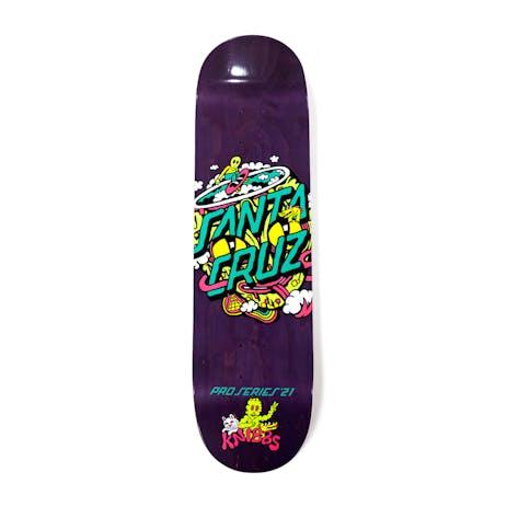 "Santa Cruz Knibbs Reptilian Dot 8.27"" Skateboard Deck"