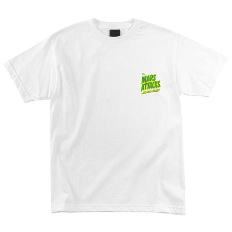 Santa Cruz x Mars Attacks Martian Hand T-Shirt - White