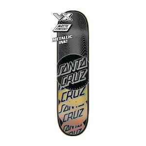 """Santa Cruz Transcend Stack VX 8.0"""" Skateboard Deck"""