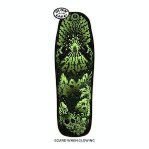 "Santa Cruz Winkowski Volcano Shaped 10.0"" Skateboard Deck"