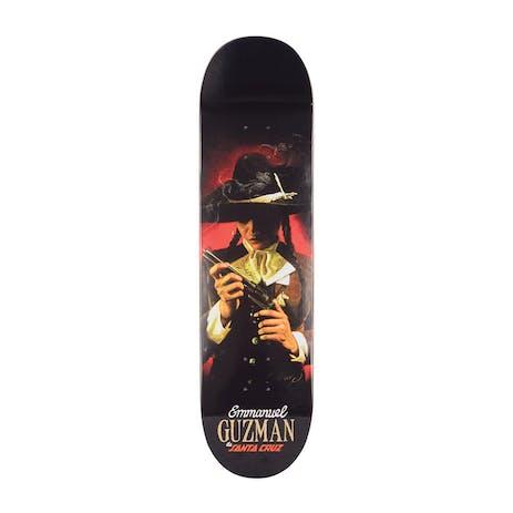 "Santa Cruz Guzman Pistola 8.2"" Skateboard Deck"