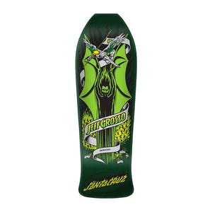 "Santa Cruz Grosso Demon Re-Issue 9.98"" Skateboard Deck - Metallic Green"