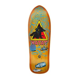 "Santa Cruz SMA Natas Kitten Re-Issue 9.89"" Skateboard Deck - Orange Sunburst"