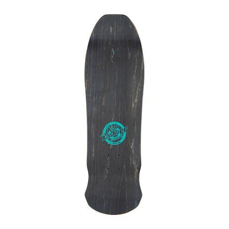 "Santa Cruz Roskopp Face Re-Issue 9.5"" Skateboard Deck - Brown"