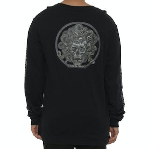 Santa Cruz Medusa Long Sleeve T-Shirt - Black