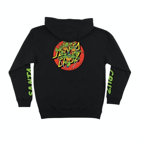 Santa Cruz x TMNT Turtle Power Hoodie - Black