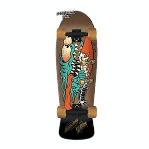 "Santa Cruz Meek Slasher 10.1"" Cruiser Skateboard"