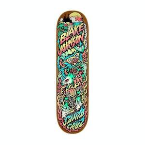 "Santa Cruz Johnson Beach Wolf 8.38"" Skateboard Deck"