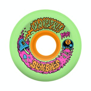 Santa Cruz Winkowski Mini Slime Balls 54.5mm Skateboard Wheels - Green
