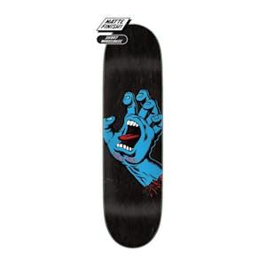 "Santa Cruz Screaming Hand 8.6"" Skateboard Deck - Black"