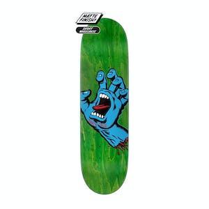 "Santa Cruz Screaming Hand 8.8"" Skateboard Deck - Green"